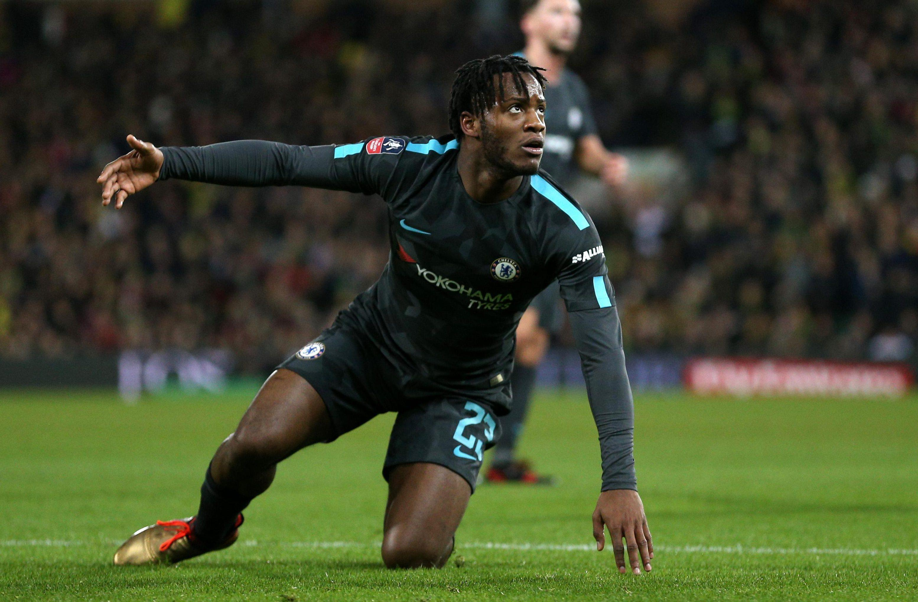 Michy Batshuayi is wanted by Sevilla this month