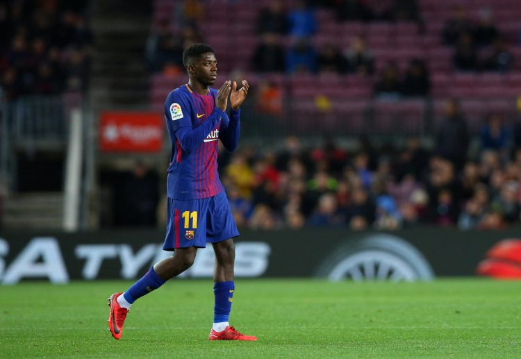 Dembele's Barca career has been blighted by injury