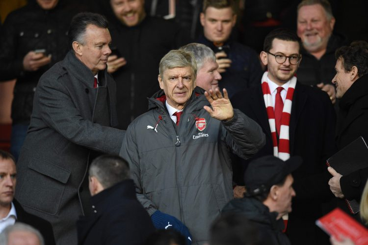 Wenger waving at all the haters