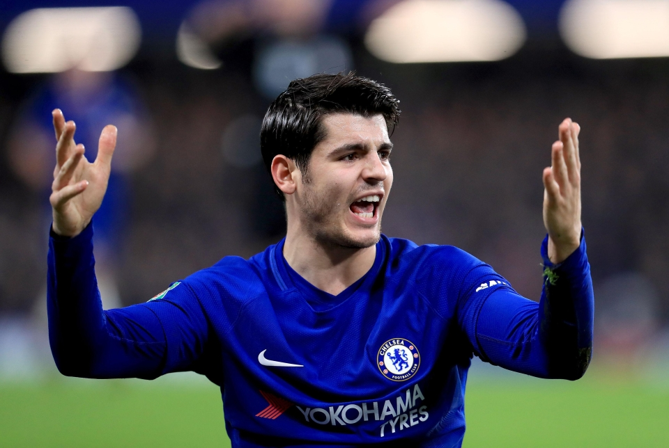 It's been a bad run for Morata lately