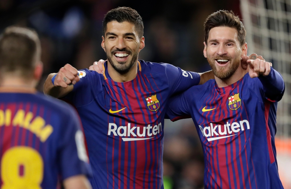 Barca were rampant at the Nou Camp