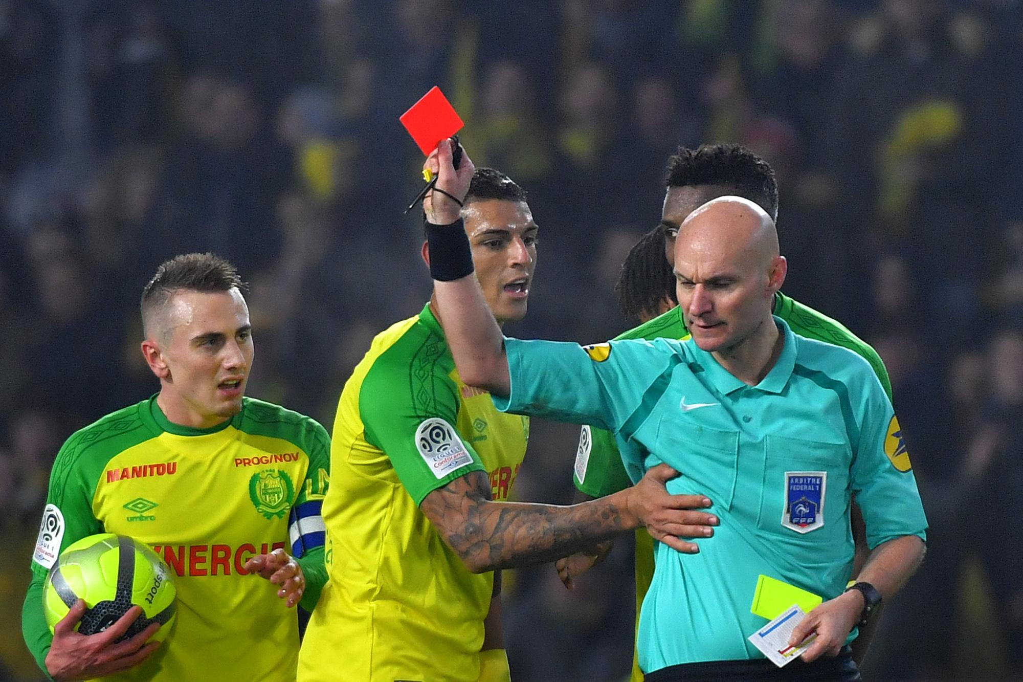 Chapron was adamant the incident deserved a red card