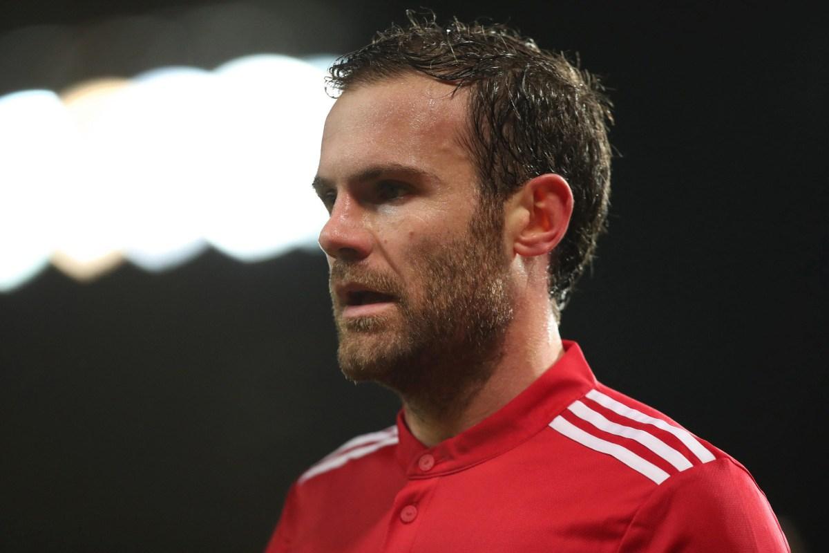 Valencia chase Juan Mata as Manchester United future grows ...