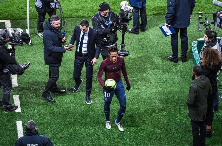 If anyone wants the match ball it will be at Neymar's house