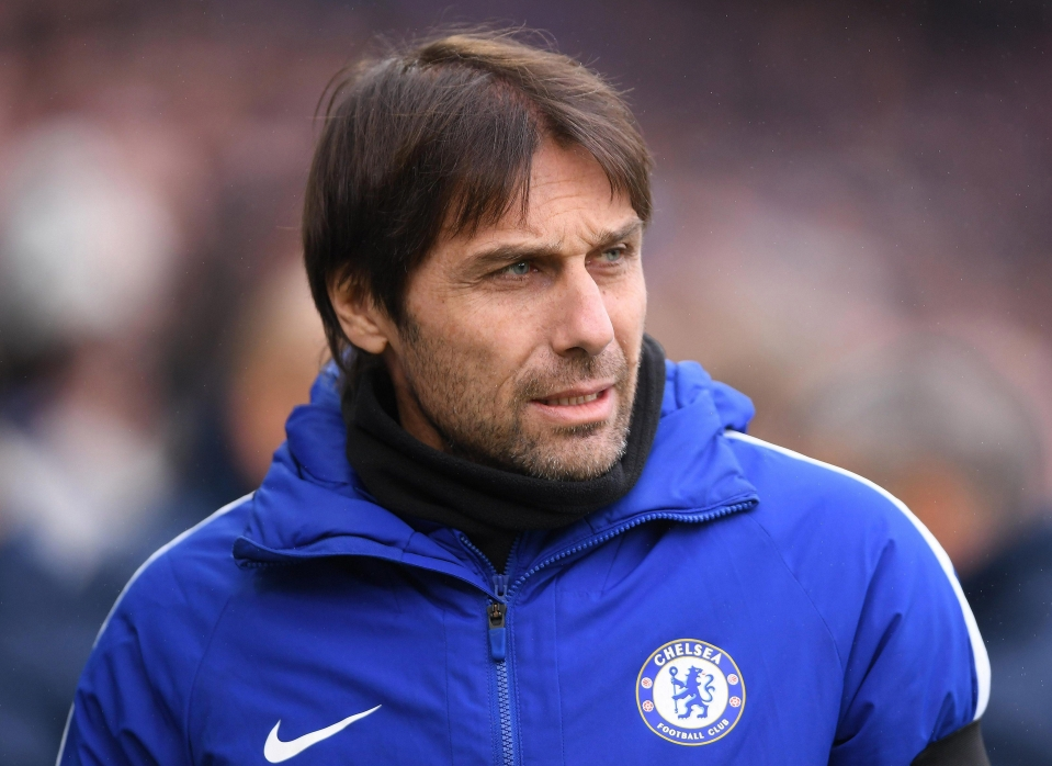 Antonio Conte is desperately trying to recruit a new forward
