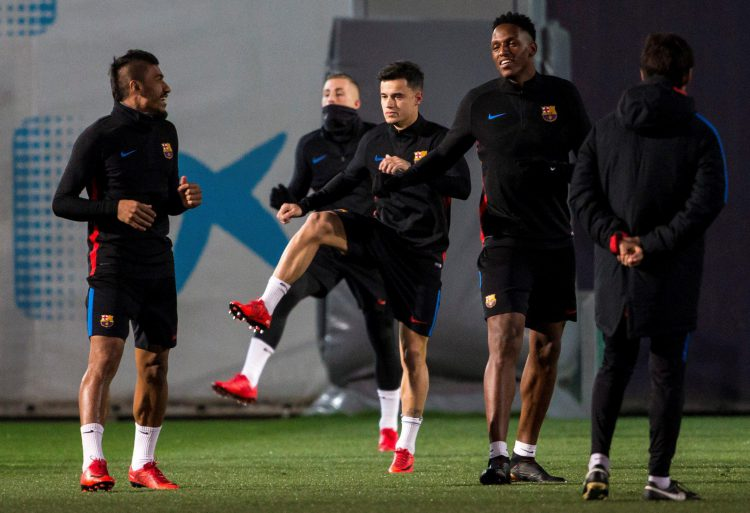 Barca's best midfielder and Philippe Coutinho