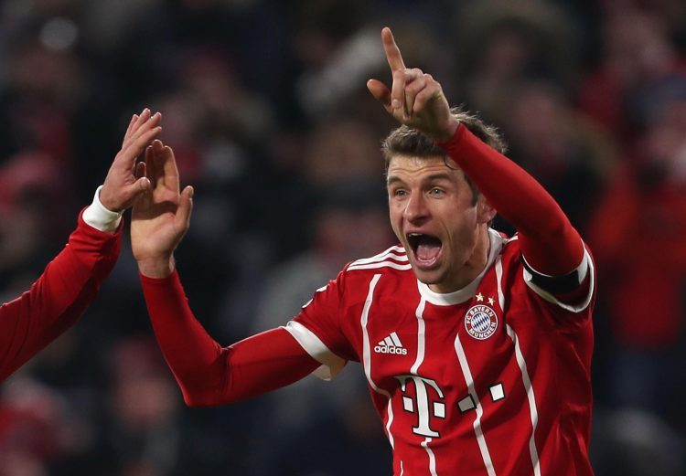 The Space Investigator notched his 100th goal for Bayern this weekend