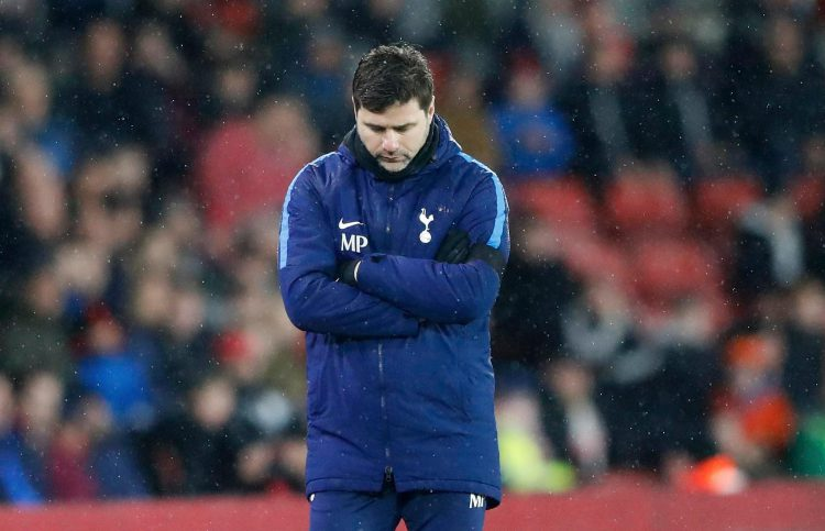 Mauricio Pochettino, the only man who complains about decisions being in favour of his team