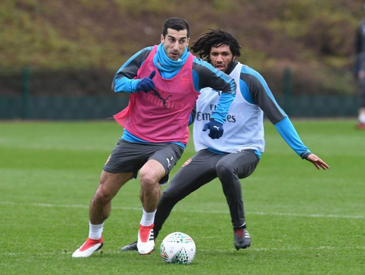 Mkhitaryan always dreamed of playing with ElNeny