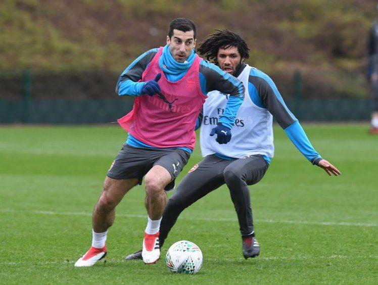 Mkhitaryan always dreamed of playing with ElNeny