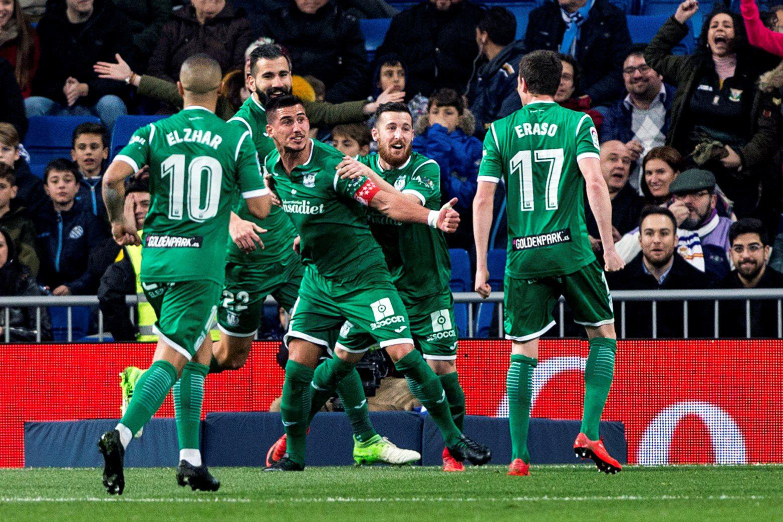 Full credit to Leganes for reaching the semi-finals