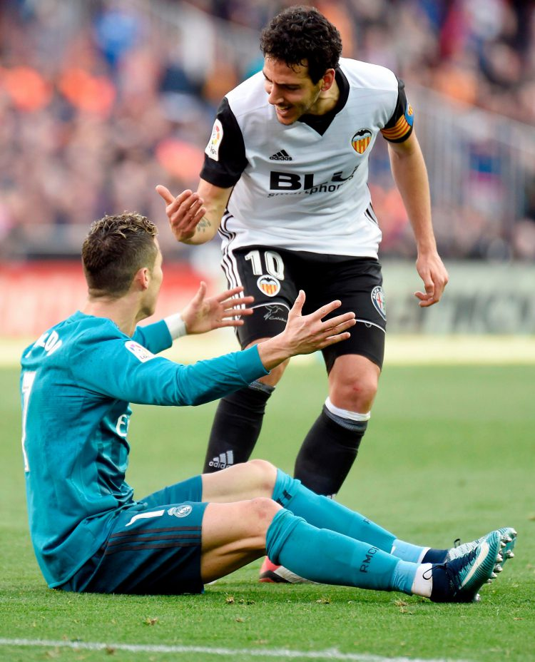 Penaldo* scored twice yesterday