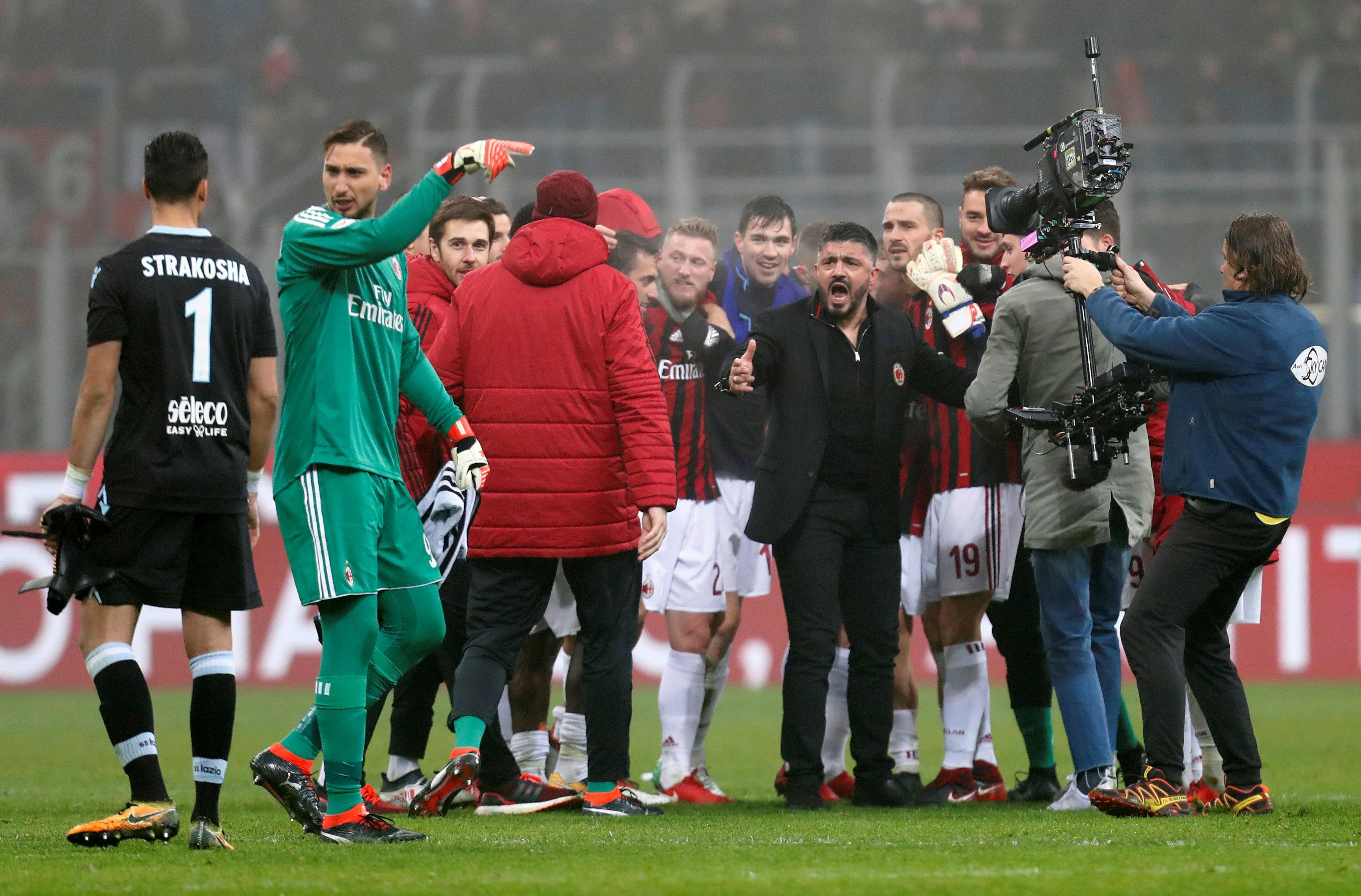 The Milan legend has improved team spirit