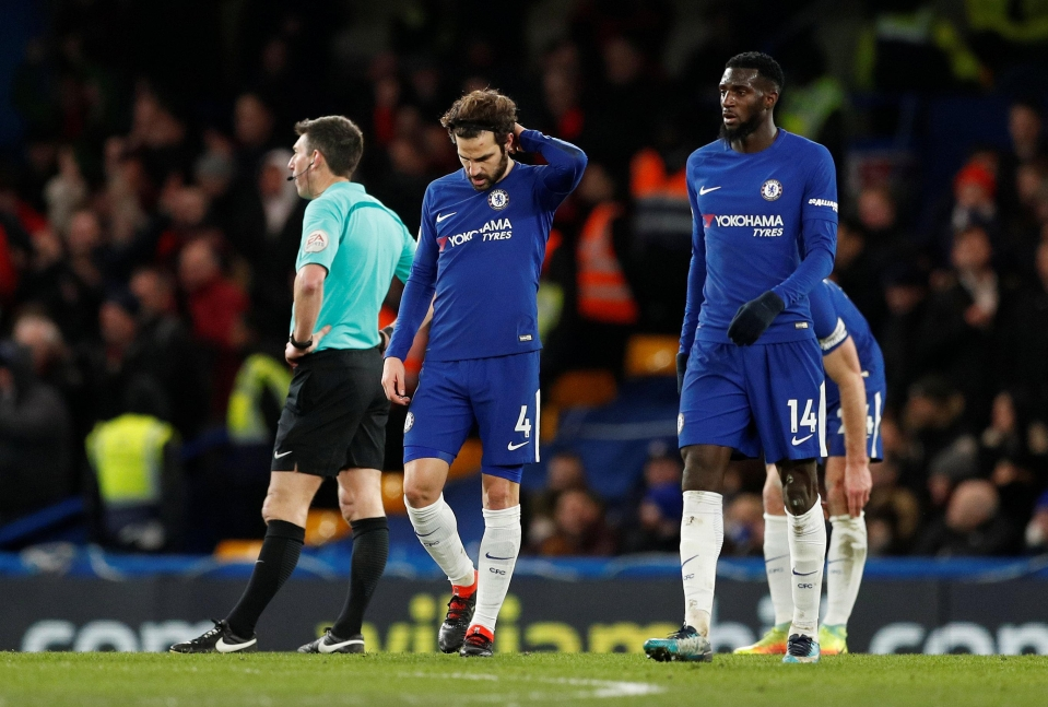 Chelsea were embarrassed by Bournemouth