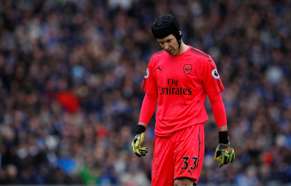 Cech's decline has been horrible to watch