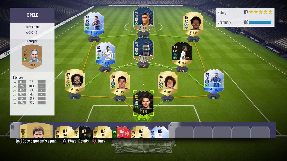 Pele's Ultimate Team is absolutely incredible