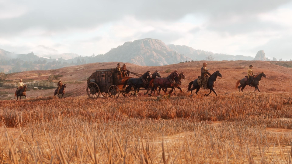 RDR2 will be powered by the same engine as GTA V – albeit a heavily tweaked version