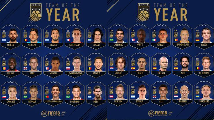Messi team of the year fifa 2018 sebastian rudy fifa 2018