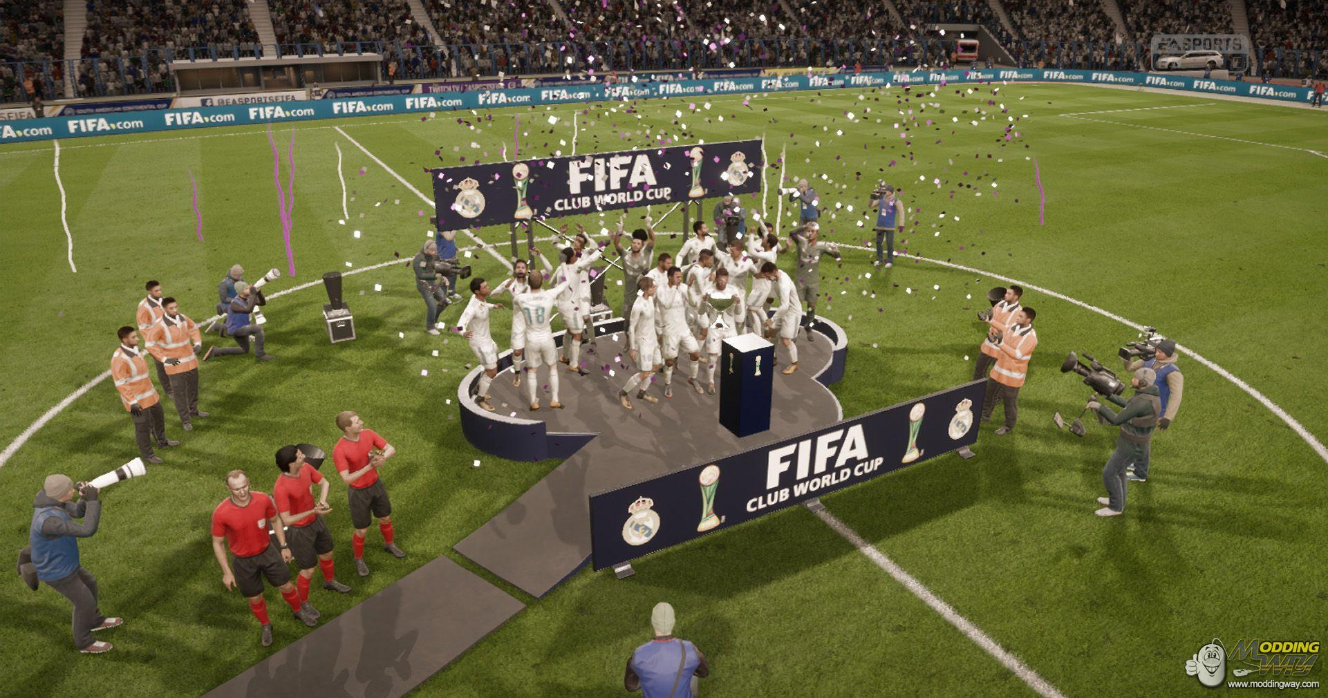 Modders have added the new tournaments to Career Mode