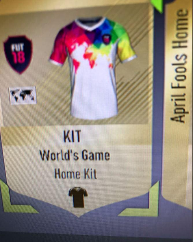 The World's Game kit looks so good