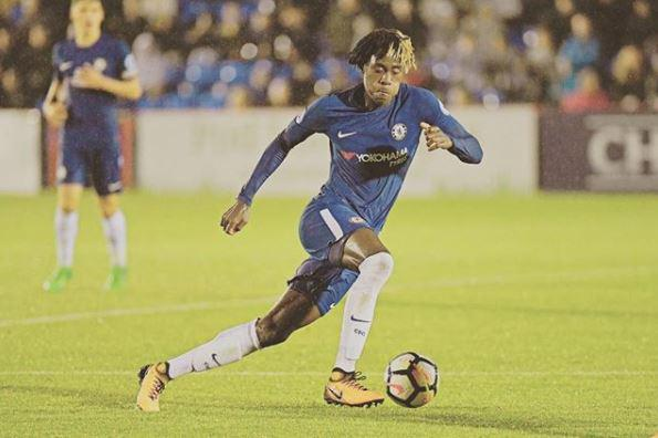 The 18-year-old will have his work cut out to break into the first team