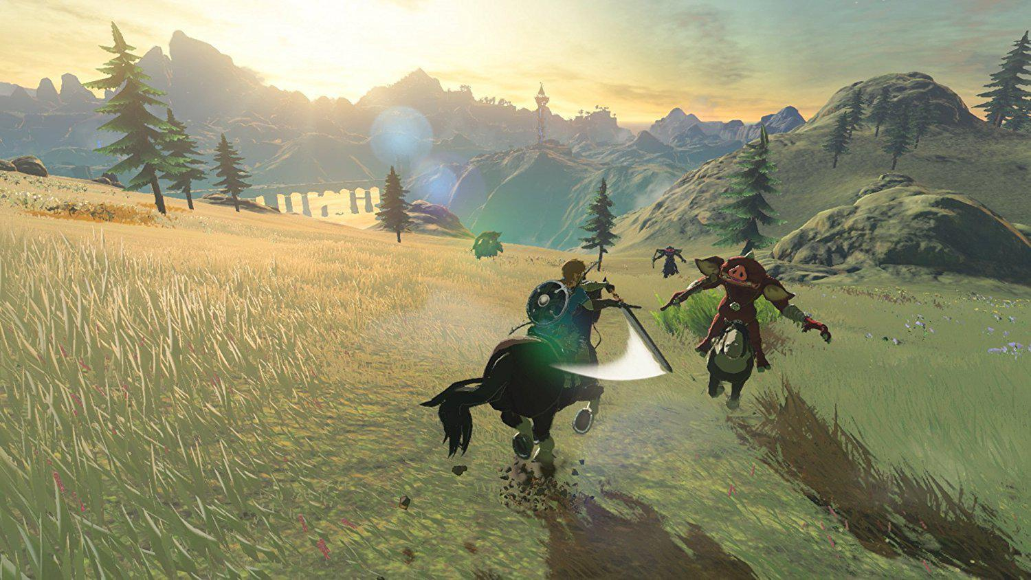 Zelda looked stunning on the switch but was arguably held back by the Wii U
