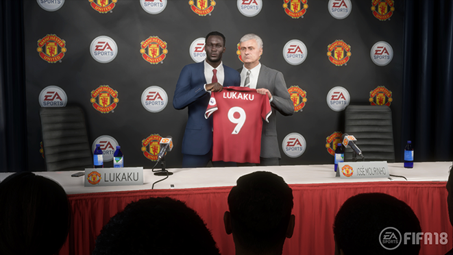 Press conferences is a huge area for EA Sports to tackle in FIFA 19