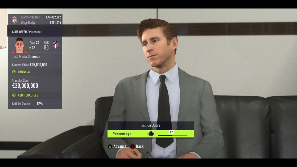 One wrong move in FIFA 18's Career Mode and you'll spook the agent or manager