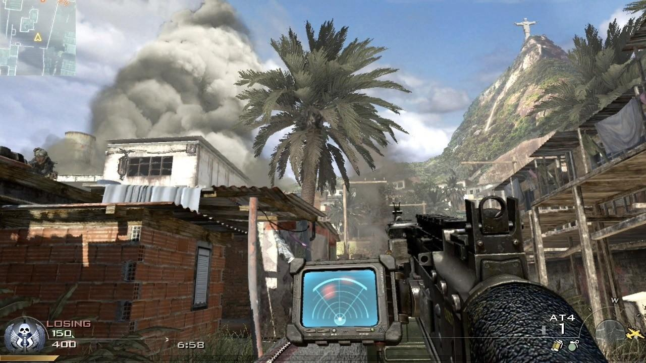 Favela was one of the standout levels in Modern Warfare 2