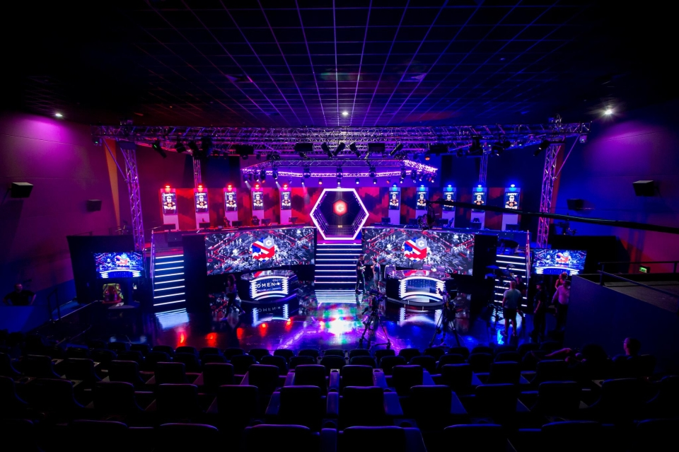 The Gfinity Arena in Fulham is a state-of the-art facility, where next month's Elite Series will take place credit:Joe Brady