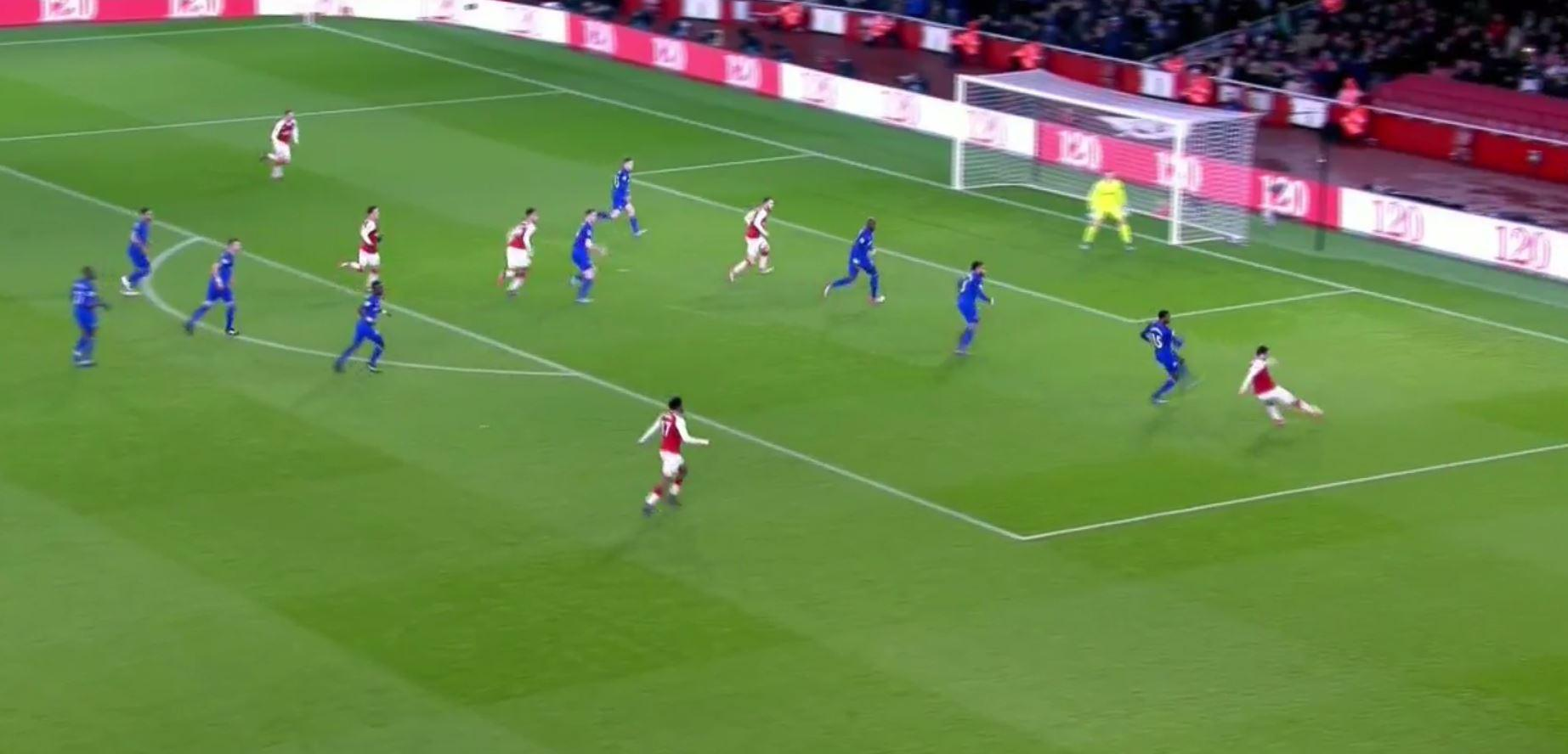 Then picked out Ramsey in the middle