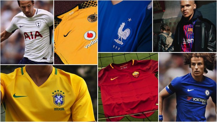 A selection of the kits available on site