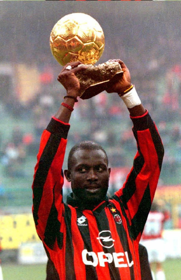 They used to give the Ballon d'Or to the player who caused the most mayhem that year