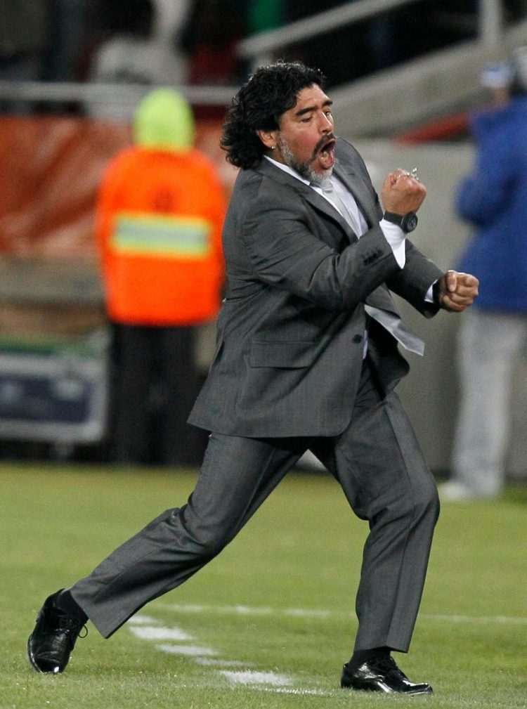 Maradona was pretty much the only person who enjoyed his time as boss of the national side