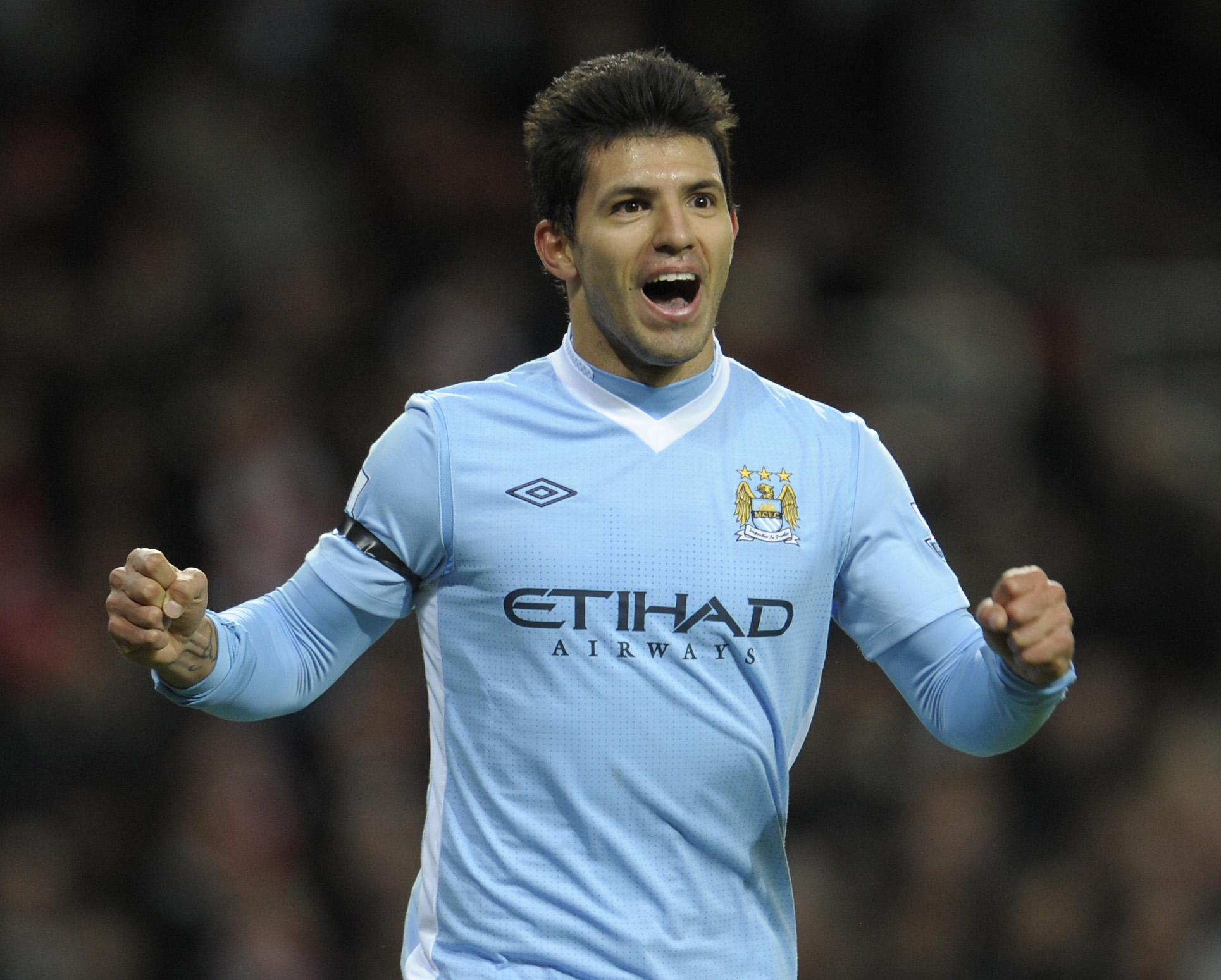 Aguero has excelled for City since signing in 2011