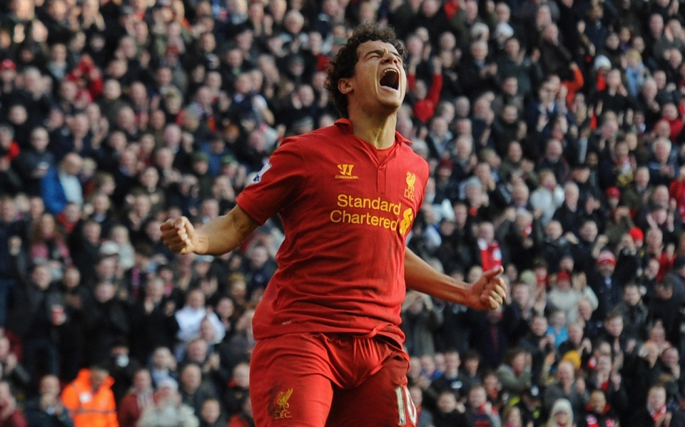Suarez set Coutinho up against Swansea in 2013