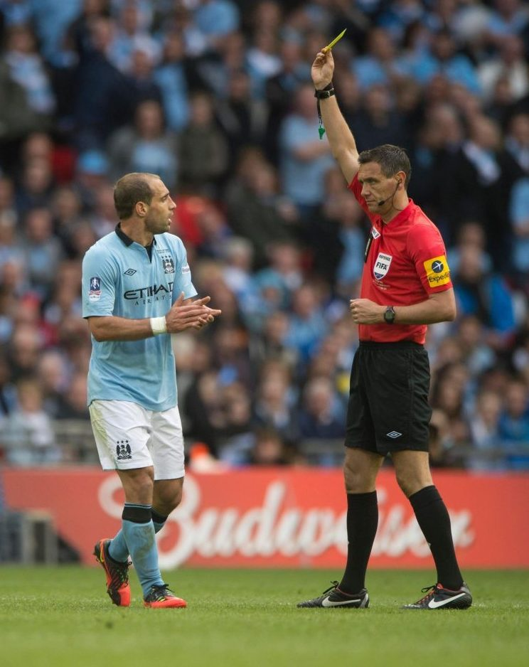 This moment basically ended Mancini's time at Man City