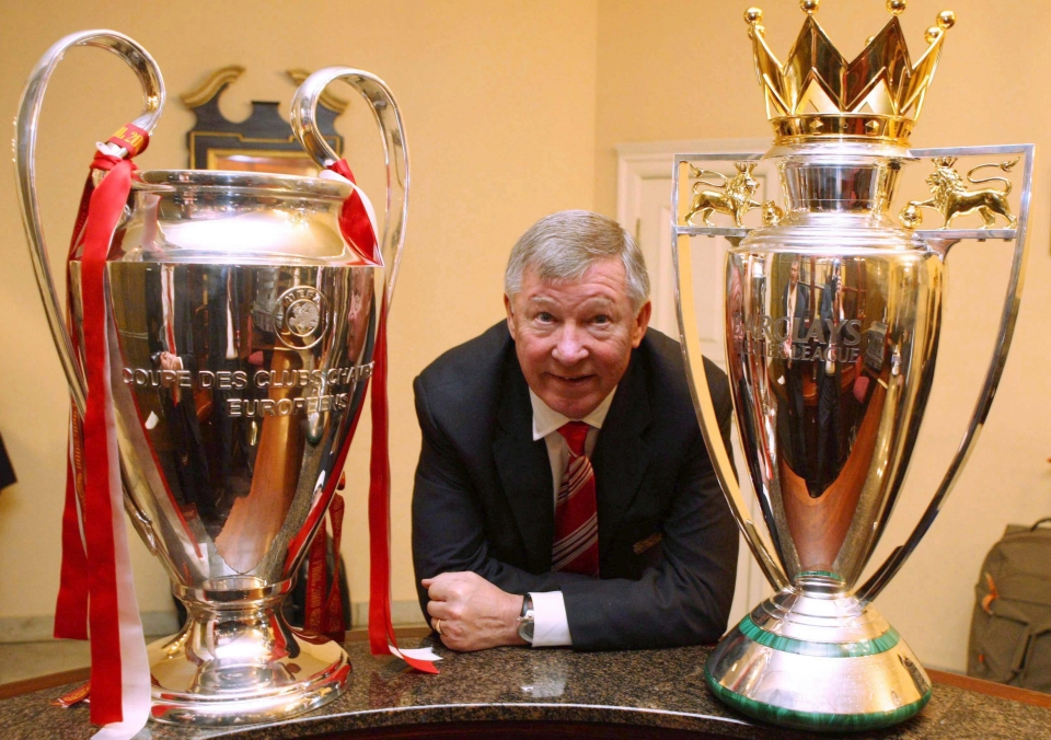 Fergie did the double in 2007/08