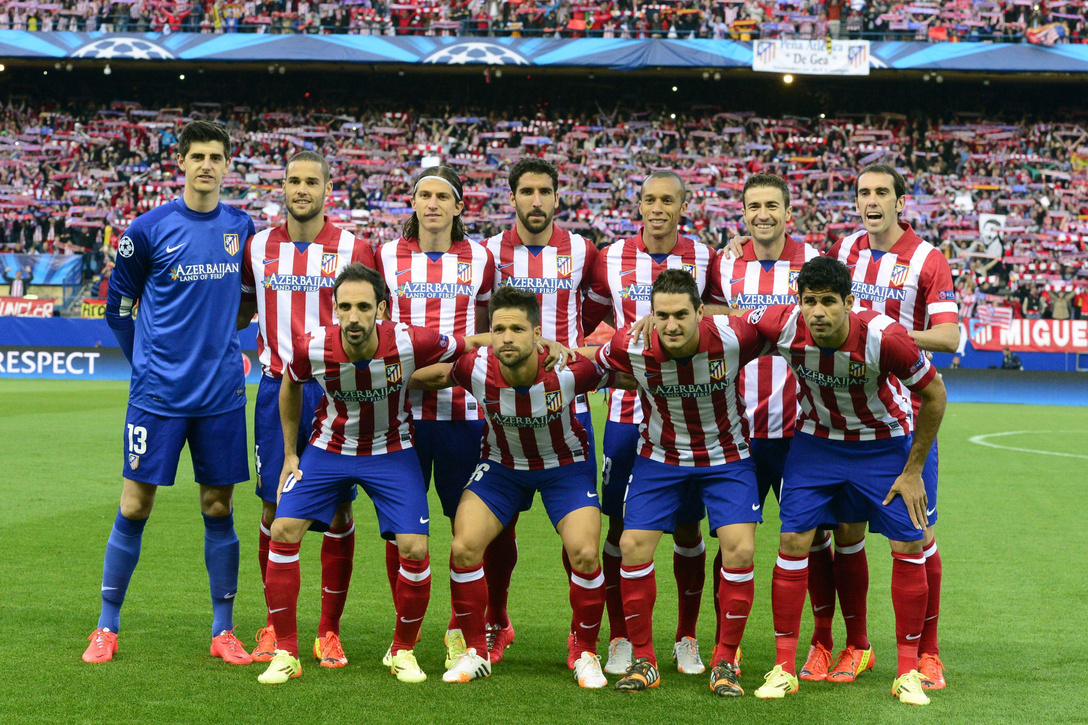 The goalkeeper was part of the Atleti side that won La Liga in 2013-14