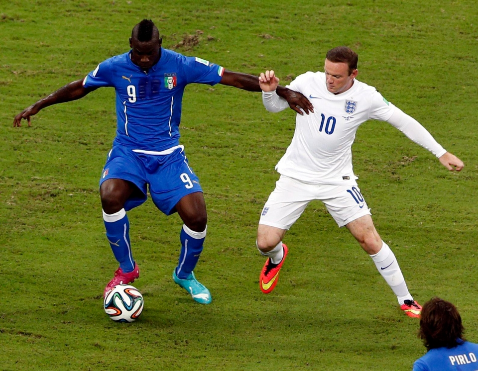 Balotelli's last appearance for Italy came at the 2014 World Cup