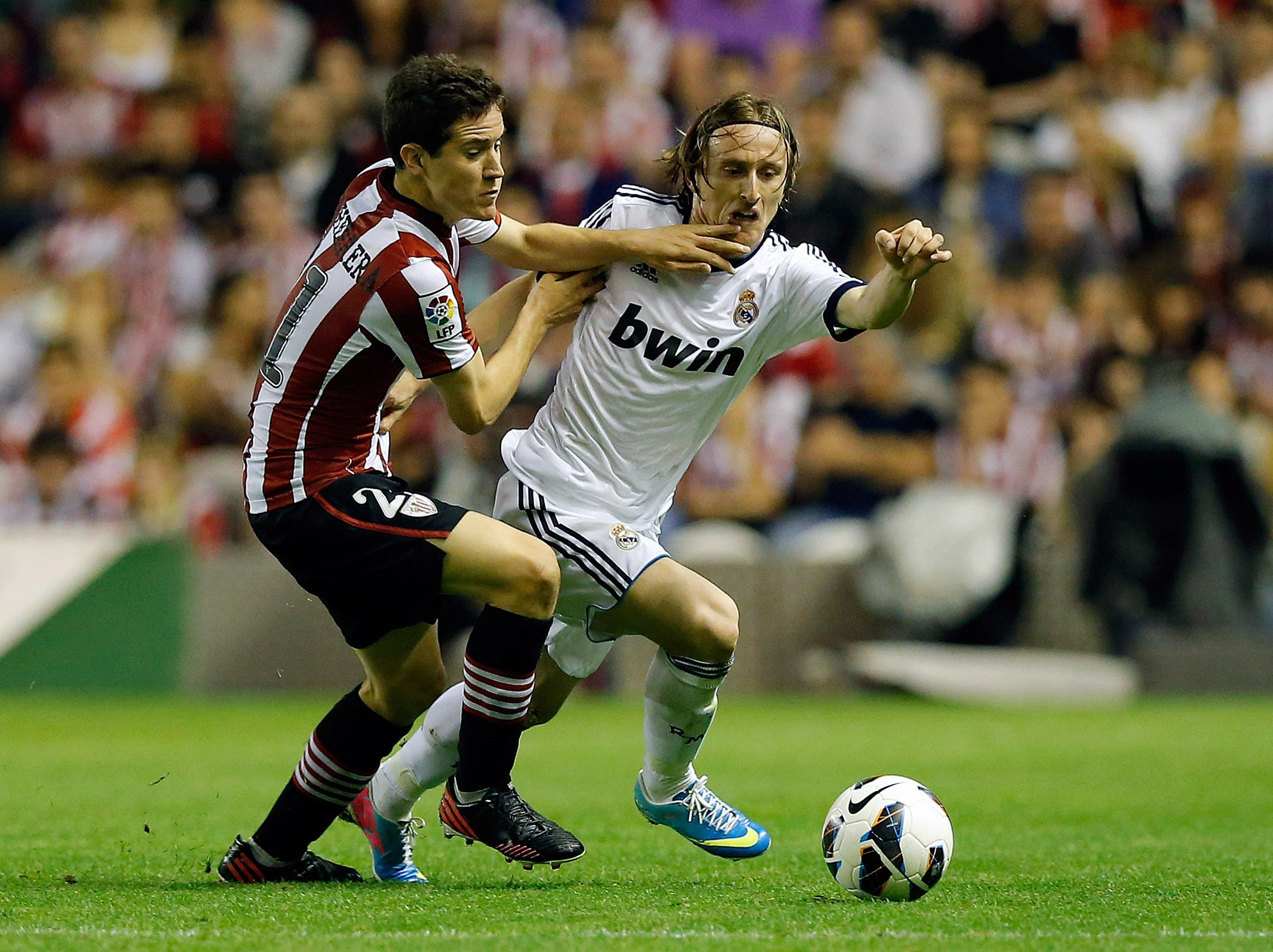 Herrera played for Athletic Bilbao before heading to Old Trafford