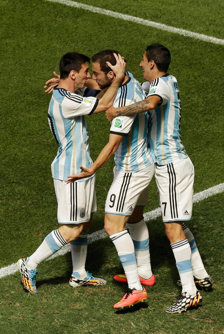 Argentina have got goals all over the pitch