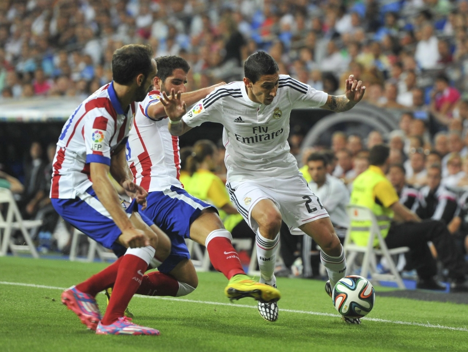 Di Maria tore Atletico to shreds in 2014
