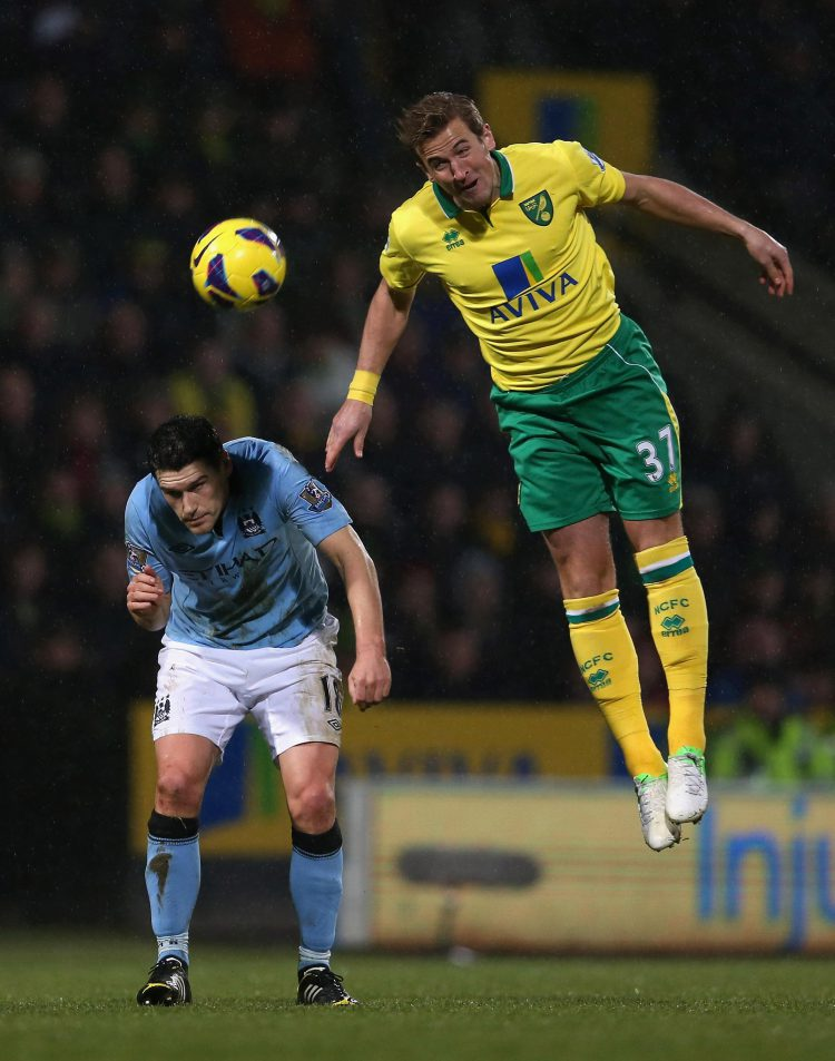 Kane turned out for the likes of Norwich before breaking into Spurs' first-team