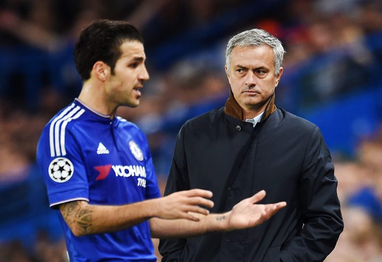 Mourinho is the master of the side eye