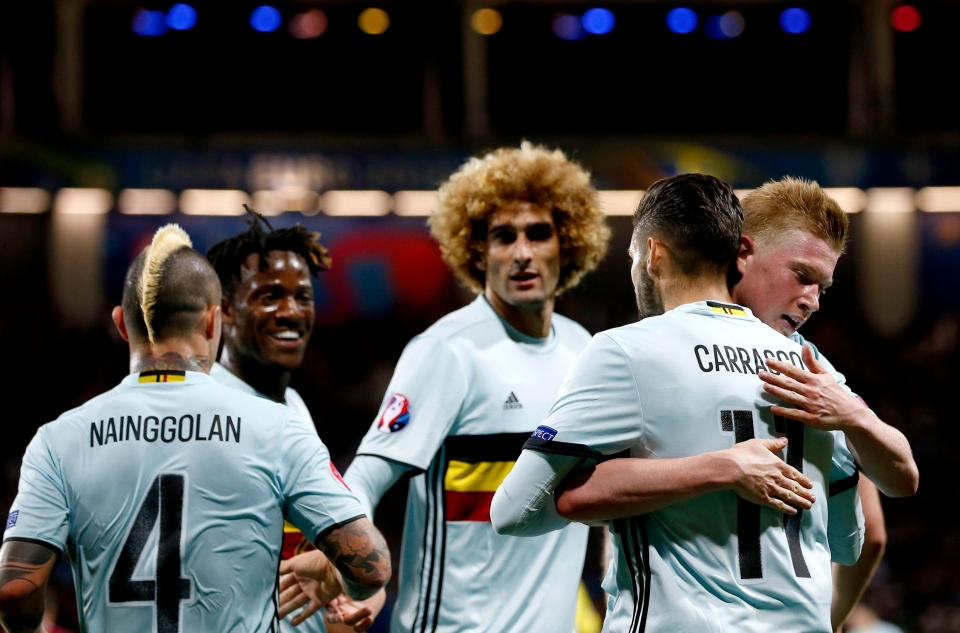 Carrasco's place in Belgium's World Cup squad is under threat