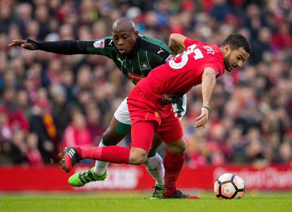 Stewart never threatened the Liverpool first team long term