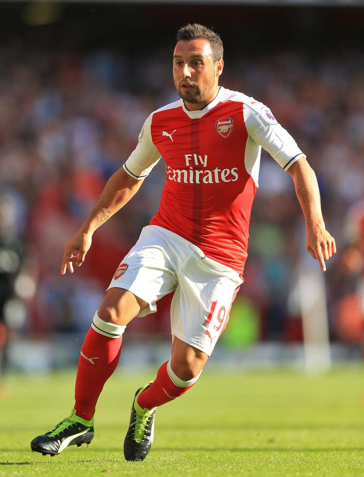 Cazorla doesn't even need a ball to be brilliant at football