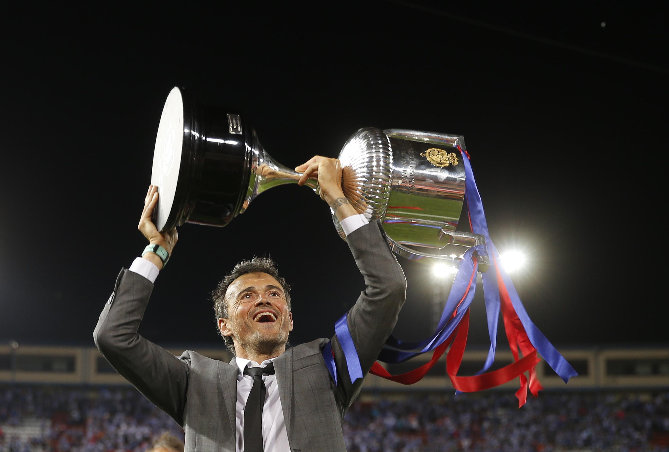 Luis Enrique has emerged as Chelsea's top managerial target