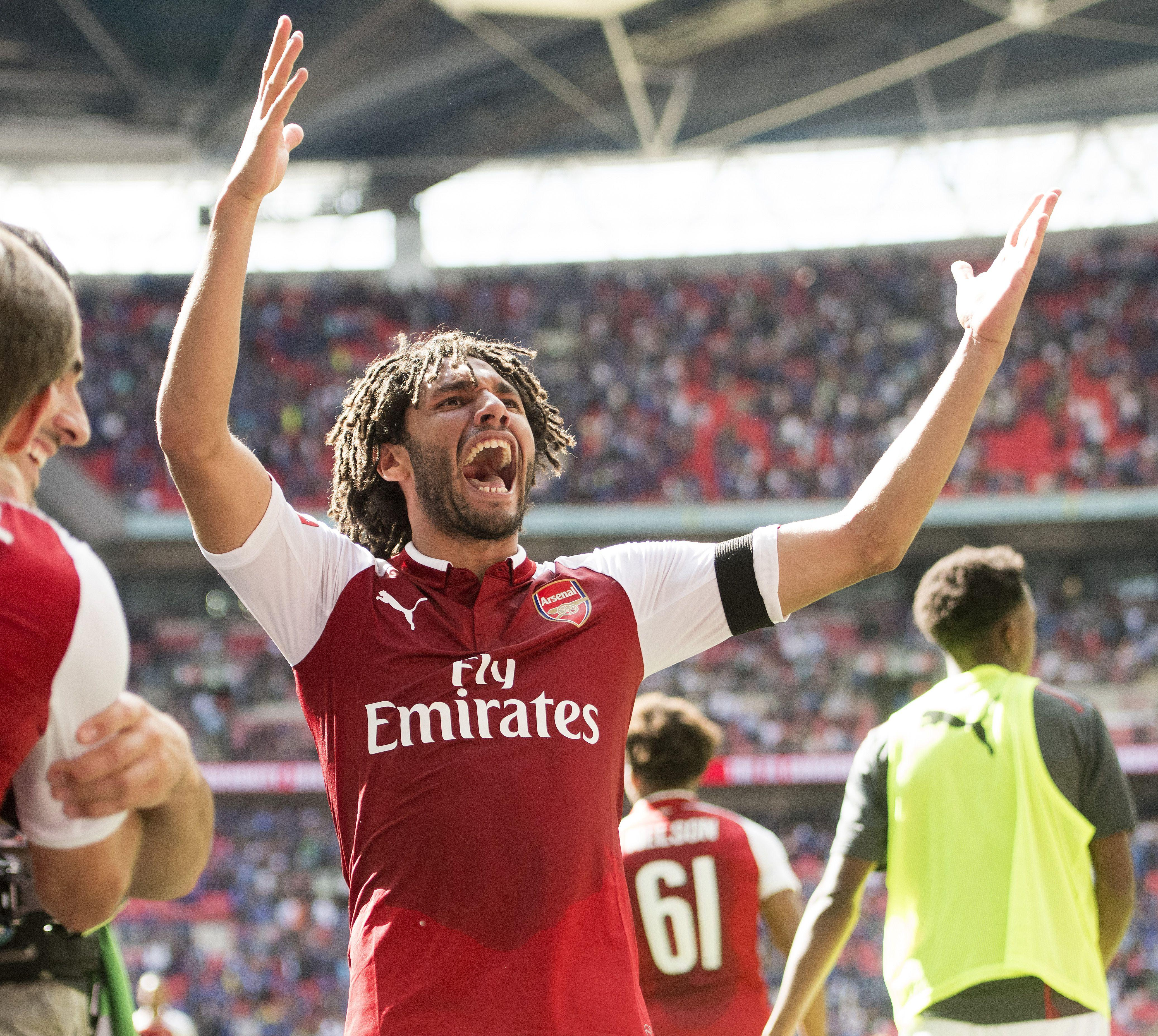 Wembley has been a happy hunting ground for Elneny and co in recent seasons